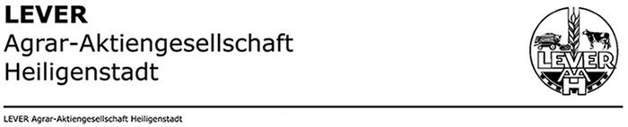 LEVER Agrar-Aktiengesellschaft Heiligenstadt – Hauptversammlung 2020