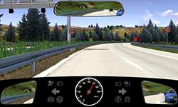 Sie fahren auf einer Autobahn mit 120 km/h.